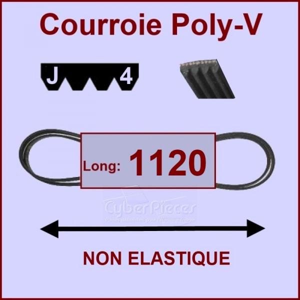 Courroie 1120 J4 non élastique