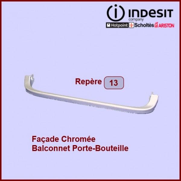 Facade Balconnet Bouteille CHROMEE (CLASS)