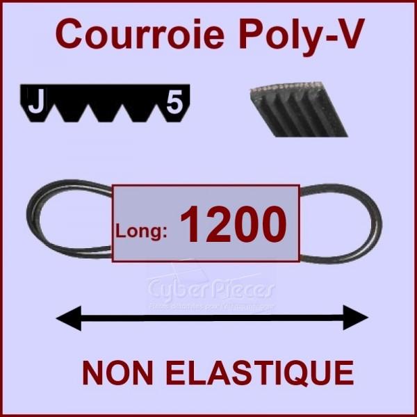 Courroie  1200 J5 non élastique