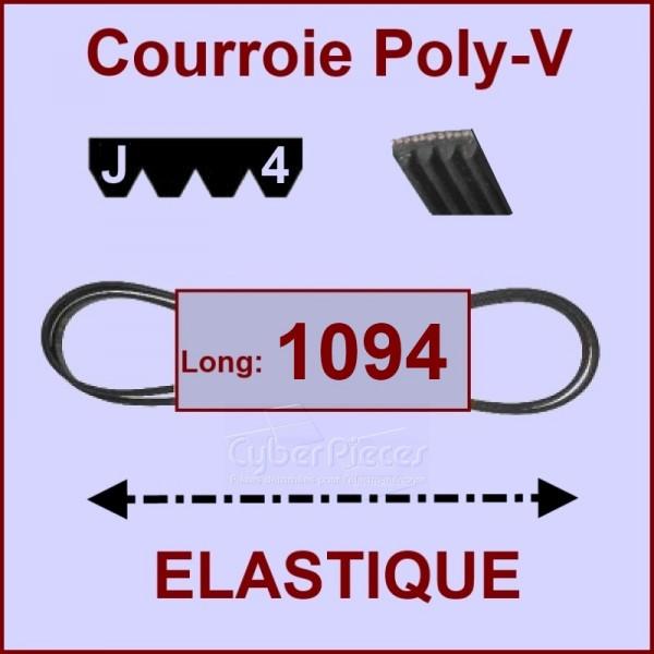 Courroie 1094 J4 - EL- élastique