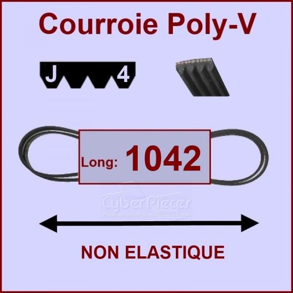 Courroie 1042 J4 non élastique