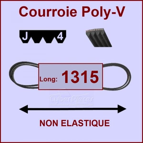 Courroie 1315 J4 non élastique