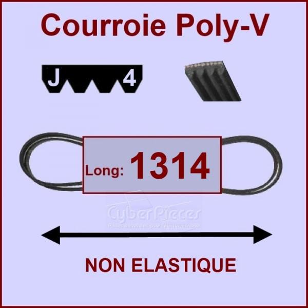 Courroie 1314 J4 non élastique