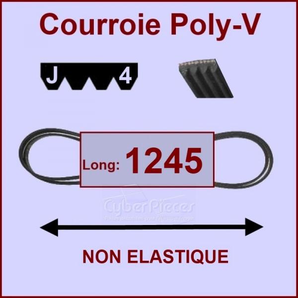 Courroie 1245 J4 non élastique