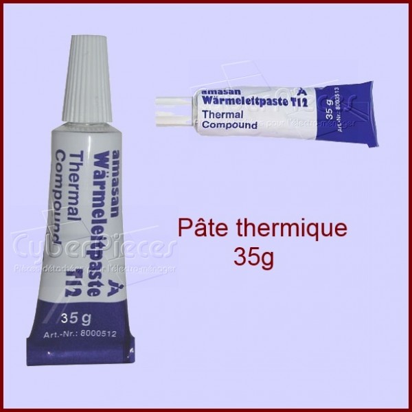 tube de pate thermoconducteur 35 gr pour machine biere petit electromenager pieces detachees. Black Bedroom Furniture Sets. Home Design Ideas