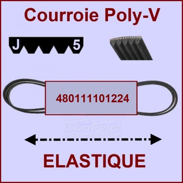Courroie lave linge 480111101224