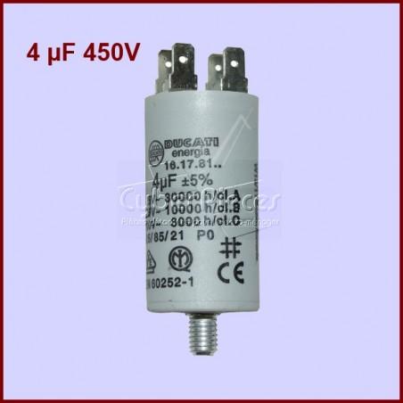 Condensateur 4,0µF (4,0MF) 450 Volts