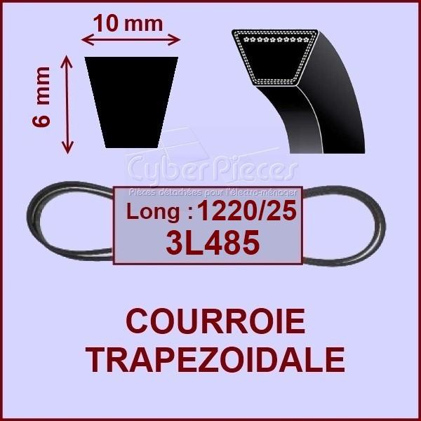 Courroie trapézoïdale 10 X 6 X 1220 - 9ML123