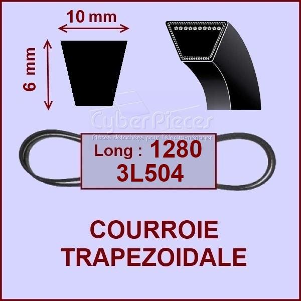 Courroie trapézoïdale 10 X 6 X 1280 - 3L504