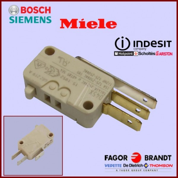 Microswitch antidebordement  (D42X) interrupteur  3 contacts