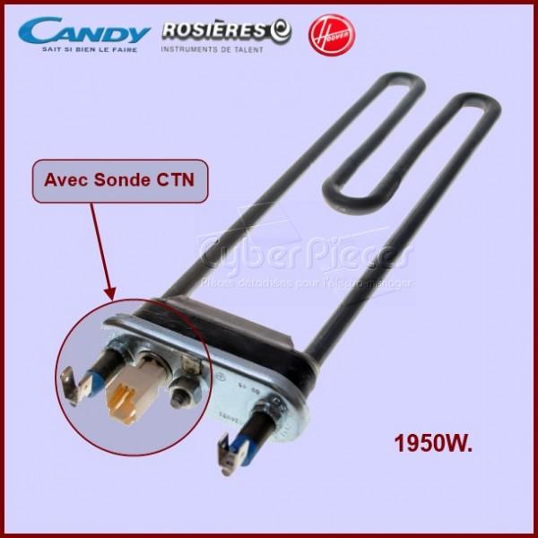Résistance 1950W + Sonde CTN 41026962 Candy