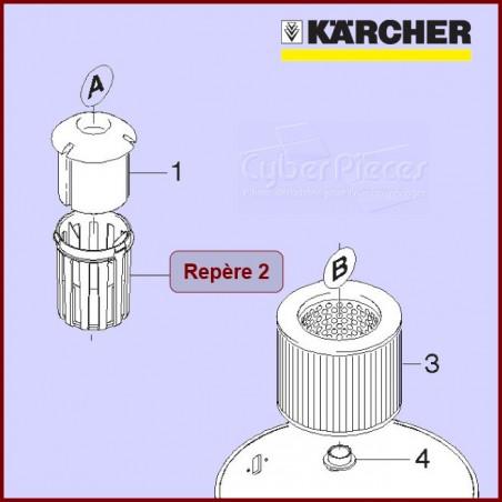 Panier du filtre et flotteur Karcher 90369920