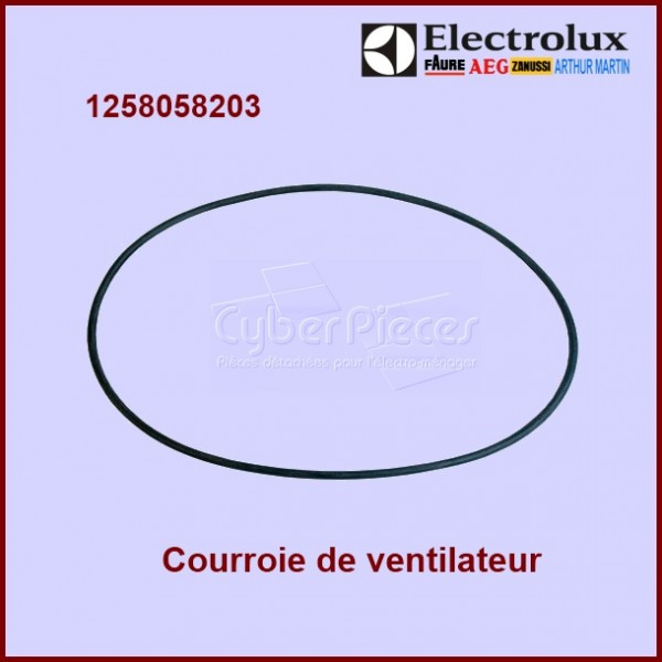 courroie de ventilateur 1258058203 pour courroies machine. Black Bedroom Furniture Sets. Home Design Ideas