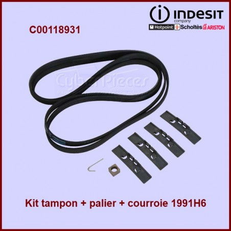 Kit tampon + palier + courroie 1991 H6 - C00118931
