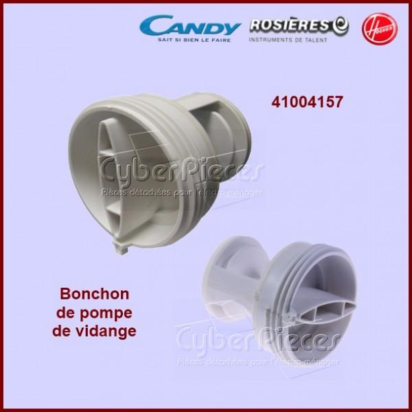bouchon de pompe 41004157 pour pompe de vidange machine a laver lavage pieces detachees. Black Bedroom Furniture Sets. Home Design Ideas