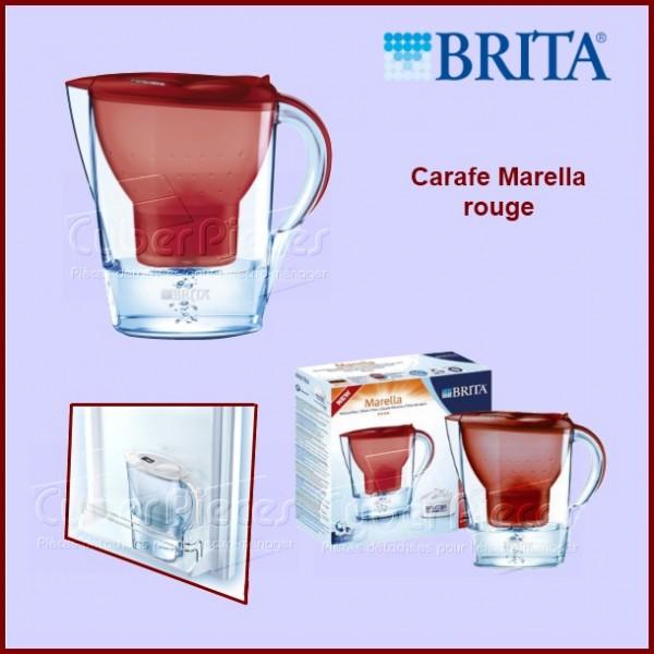 Carafe BRITA Marella Rouge 101973