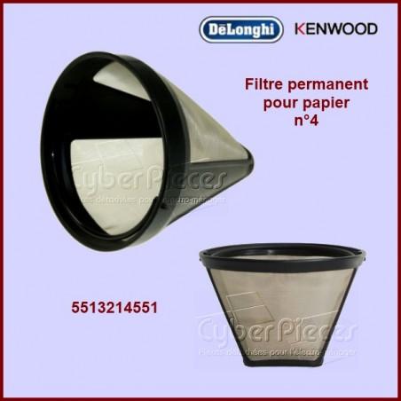 Porte filtre à café permanent 5513214551