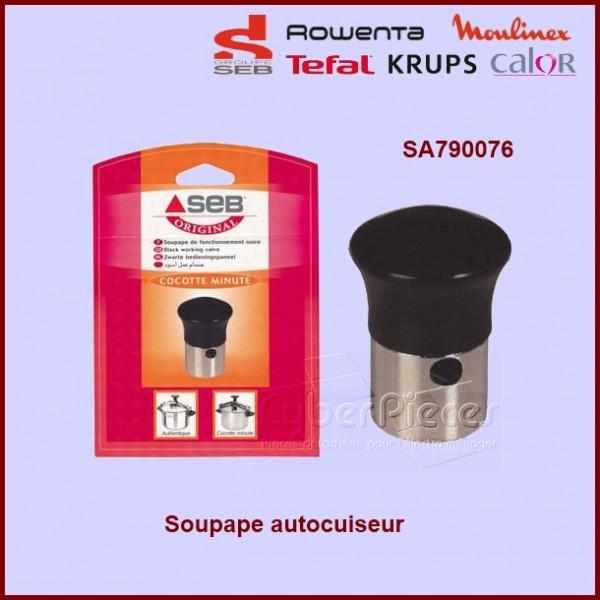 soupape noire cocotte minute seb sa790076 pour robot menager cocotte autocuiseurs petit. Black Bedroom Furniture Sets. Home Design Ideas