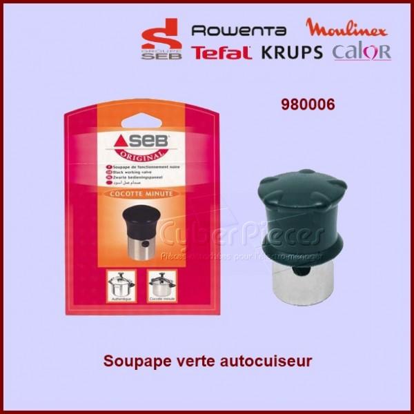Soupape Verte de cocotte Auhentique SEB 980006