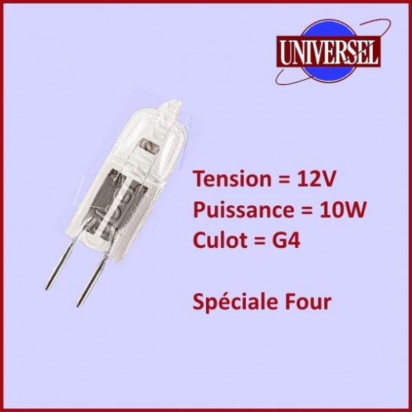 Ampoule Halogène G4 12V 10w