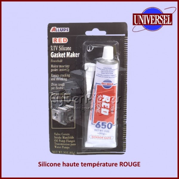 Silicone haute température ROUGE