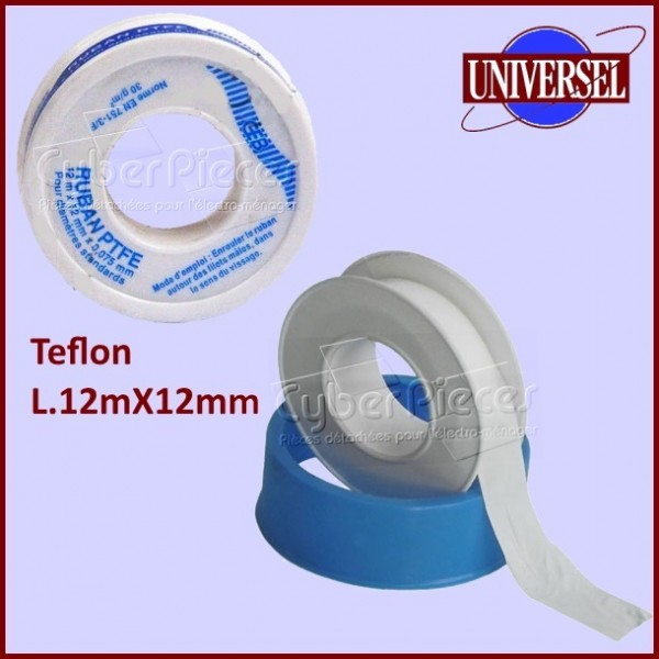 TEFLON en rouleau L.12MX12MM