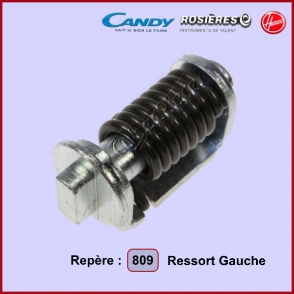 Ressort Gauche (repère 809) 93710184