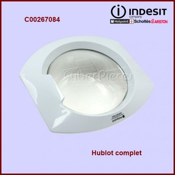 Hublot complet indesit c00267084 pour hublot machine a - Stickers pour machine a laver hublot ...