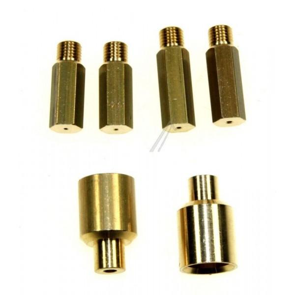 kit injecteur gaz naturel 76x9344 pour injecteurs buses. Black Bedroom Furniture Sets. Home Design Ideas