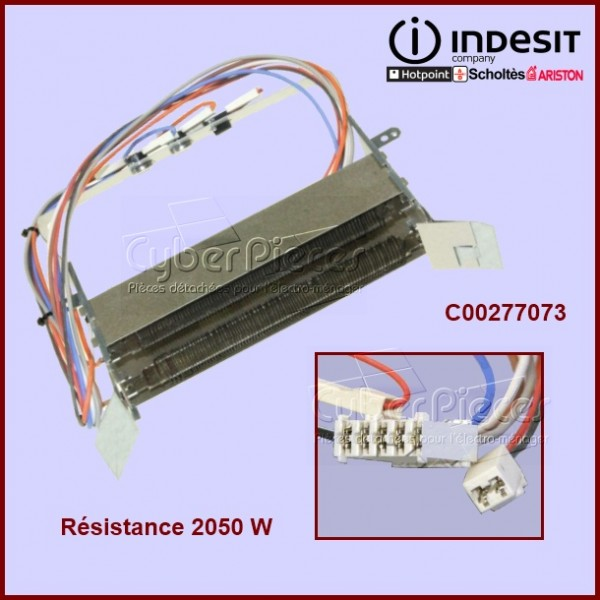 Résistance 2050w + thermostats C00277073