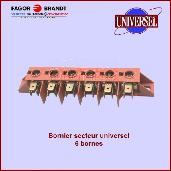 Bornier Sélecteur 6 Bornes universel