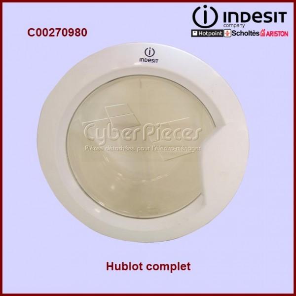 Hublot complet indesit c00306743 pour hublot machine a - Stickers pour machine a laver hublot ...