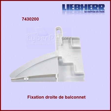Fixation droite tablette de balconnet 7430200