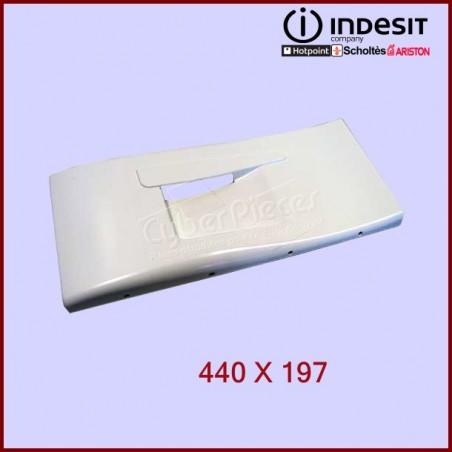 Volet frontal congélateur blanc 440X197 C00076116