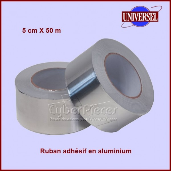 Ruban adhésif en aluminium 5 cm X 50 m