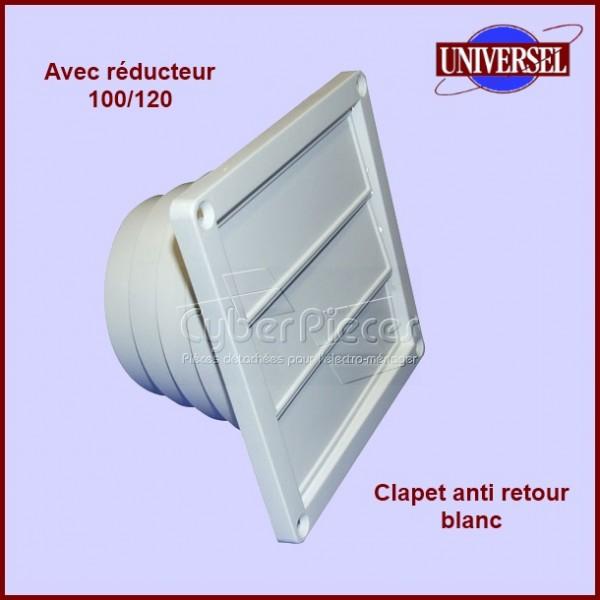 Clapet anti retour blanc Multi diametres