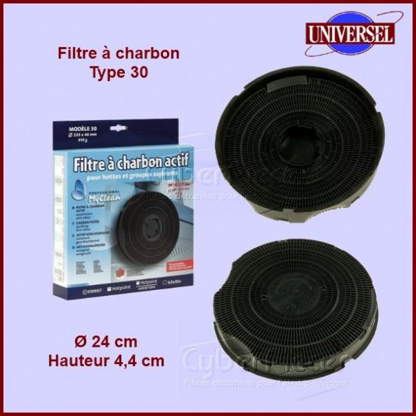 Filtre à charbons Type 30