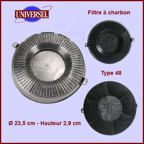 Filtre à charbon Type 48