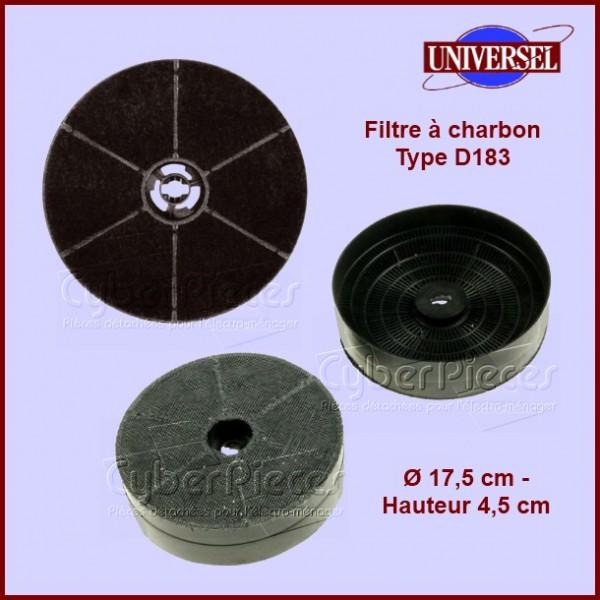 Filtre à charbon Type D183