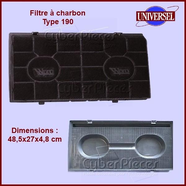 Filtre à charbon Type 190