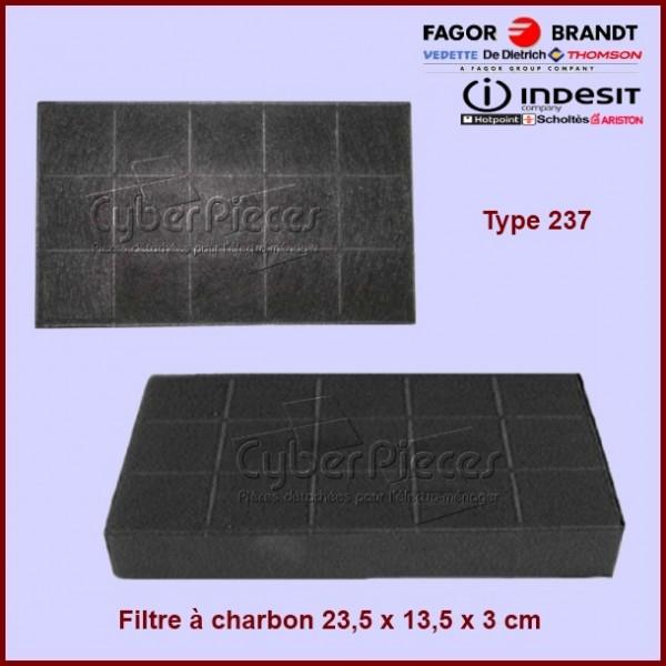 Filtre à charbon - Type 237