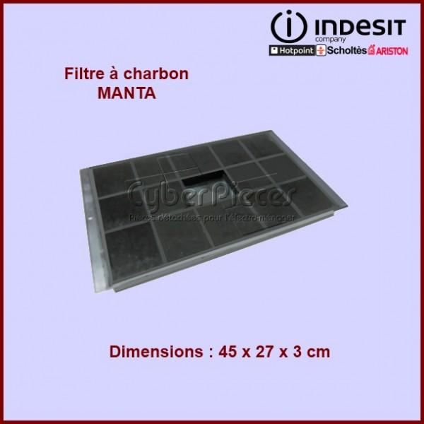 Filtre à charbon Type Manta - C00081381