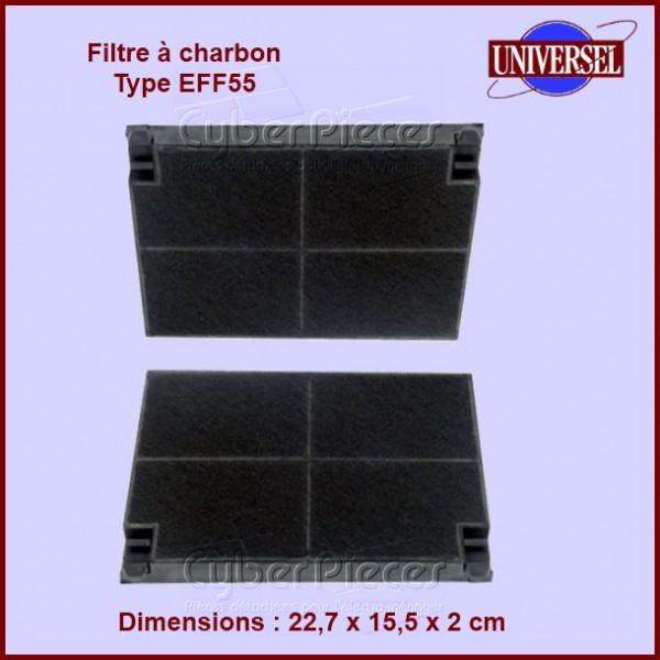 Filtre à charbon Type EFF55