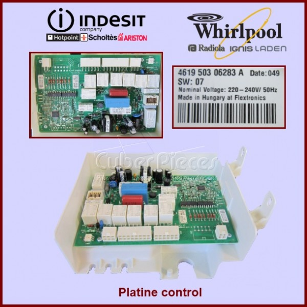 Platine control C00280658 ou 480132101494