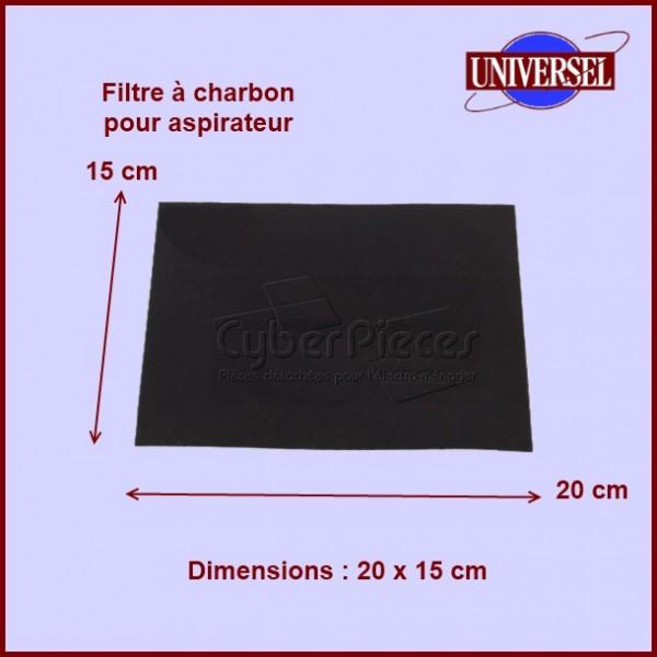 filtre charbon d 39 aspirateur pour aspirateur petit electromenager pieces detachees electromenager. Black Bedroom Furniture Sets. Home Design Ideas