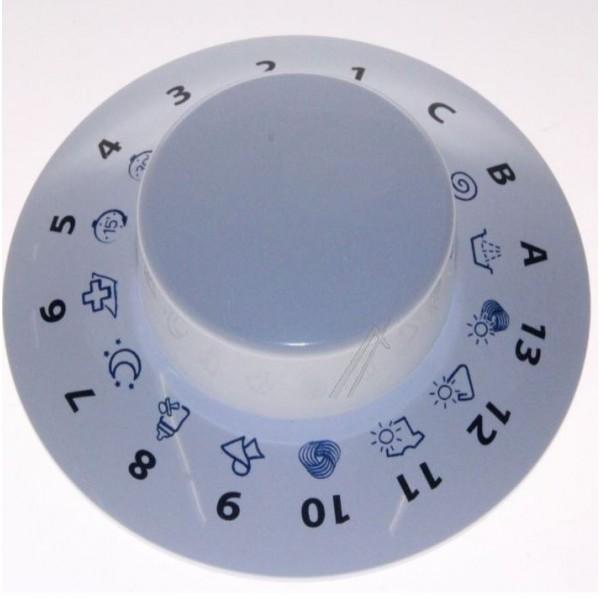 Bouton blanc programmateur ARM PRNE02  264221