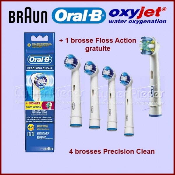 Brosse à dents Precision + 1 Air Floss Gratuite