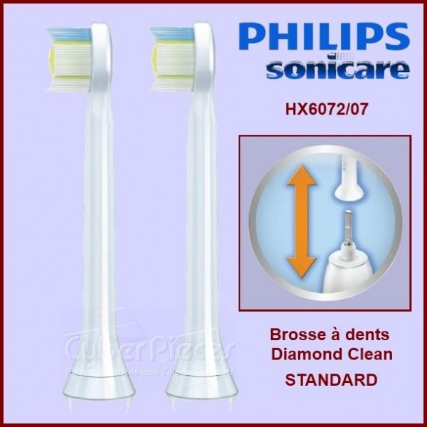 Brosses à dents Sonicare Diamond Clean Standard HX6062/07