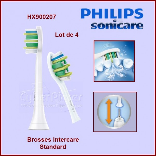 Brosse à dents Intercare standard - HX900407