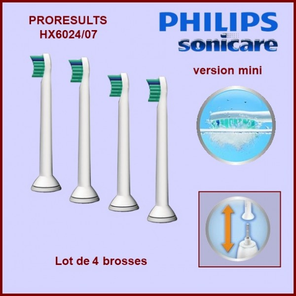 Brosse à dents Sonicare Proresults MINI - HX602407